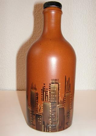 bouteille-decoree-peinture-porcelaine