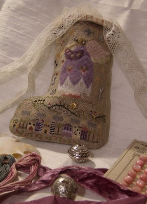 Elisabeth's stocking from Sheperd's Bush